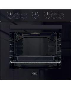 Defy Slimline 600U Black Glass DBO482