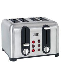 Defy Toaster 4 Slice Satin TA4203S